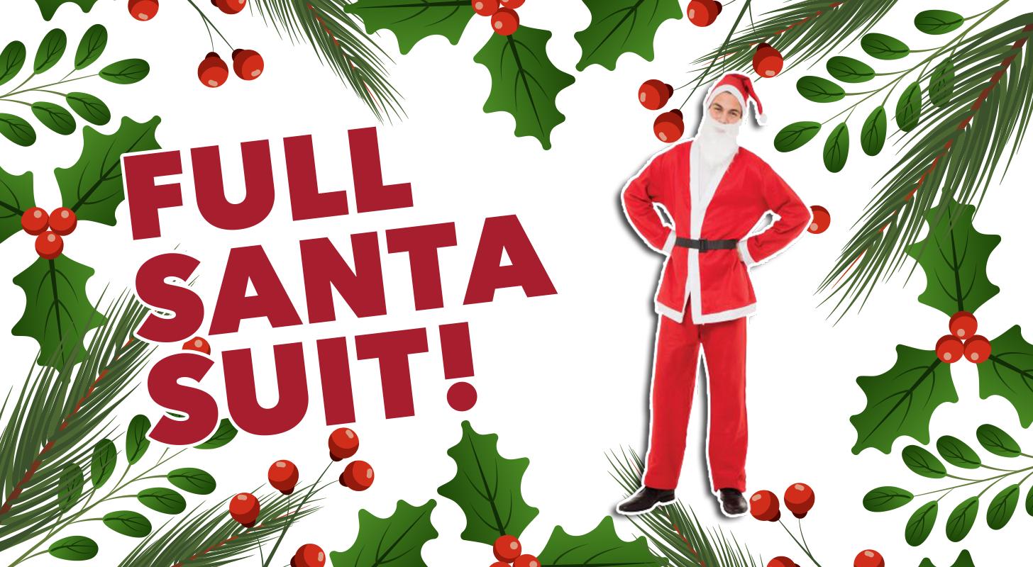 Full Santa Suit